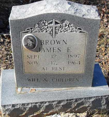 BROWN, JAMES E - Pulaski County, Arkansas | JAMES E BROWN - Arkansas Gravestone Photos