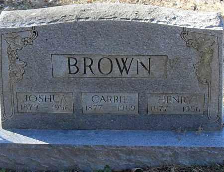 BROWN, JOSHUA - Pulaski County, Arkansas | JOSHUA BROWN - Arkansas Gravestone Photos
