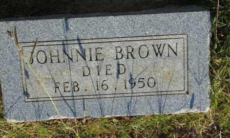 BROWN, JOHNNIE - Pulaski County, Arkansas | JOHNNIE BROWN - Arkansas Gravestone Photos