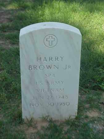BROWN, JR (VETERAN VIET), HARRY - Pulaski County, Arkansas | HARRY BROWN, JR (VETERAN VIET) - Arkansas Gravestone Photos