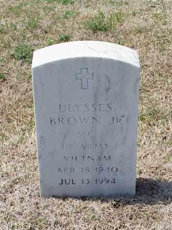 BROWN, JR (VETERAN VIET), ULYSSES - Pulaski County, Arkansas | ULYSSES BROWN, JR (VETERAN VIET) - Arkansas Gravestone Photos