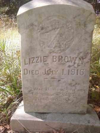 BROWN, LIZZIE - Pulaski County, Arkansas | LIZZIE BROWN - Arkansas Gravestone Photos