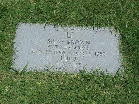 BROWN, LULU - Pulaski County, Arkansas | LULU BROWN - Arkansas Gravestone Photos