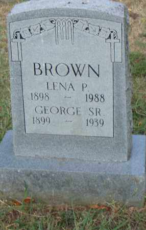 BROWN, LENA P. - Pulaski County, Arkansas | LENA P. BROWN - Arkansas Gravestone Photos