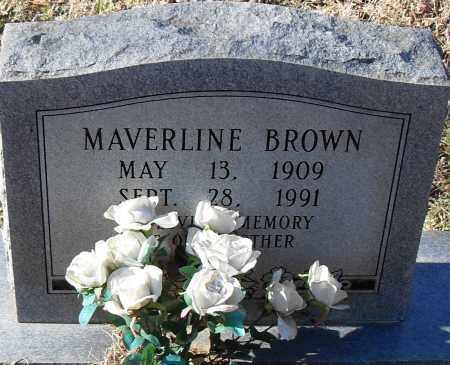 BROWN, MAVERLINE - Pulaski County, Arkansas   MAVERLINE BROWN - Arkansas Gravestone Photos