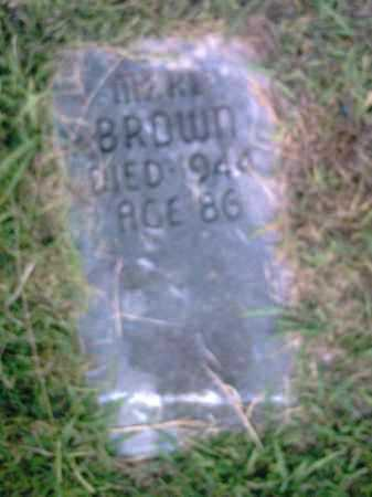 BROWN, MERV - Pulaski County, Arkansas | MERV BROWN - Arkansas Gravestone Photos