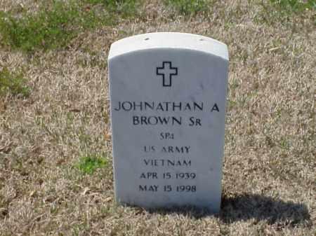 BROWN, SR (VETERAN VIET), JOHNATHAN A - Pulaski County, Arkansas | JOHNATHAN A BROWN, SR (VETERAN VIET) - Arkansas Gravestone Photos