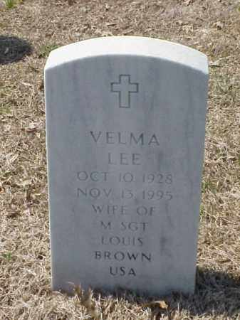 BROWN, VELMA LEE - Pulaski County, Arkansas | VELMA LEE BROWN - Arkansas Gravestone Photos