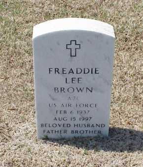 BROWN (VETERAN), FREADDIE LEE - Pulaski County, Arkansas | FREADDIE LEE BROWN (VETERAN) - Arkansas Gravestone Photos