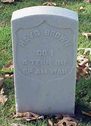 BROWN (VETERAN SAW), HAYS - Pulaski County, Arkansas | HAYS BROWN (VETERAN SAW) - Arkansas Gravestone Photos