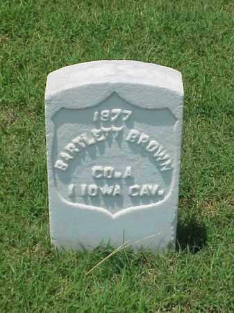 BROWN (VETERAN UNION), BARTLETT - Pulaski County, Arkansas | BARTLETT BROWN (VETERAN UNION) - Arkansas Gravestone Photos