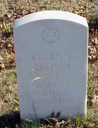 BROWN (VETERAN VIET), ALLAN L - Pulaski County, Arkansas | ALLAN L BROWN (VETERAN VIET) - Arkansas Gravestone Photos