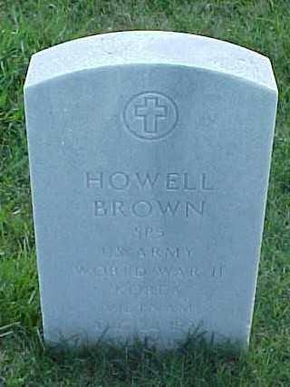 BROWN (VETERAN VIET), HOWELL - Pulaski County, Arkansas | HOWELL BROWN (VETERAN VIET) - Arkansas Gravestone Photos