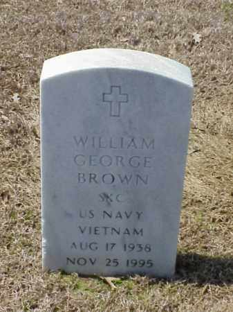 BROWN (VETERAN VIET), WILLIAM GEORGE - Pulaski County, Arkansas | WILLIAM GEORGE BROWN (VETERAN VIET) - Arkansas Gravestone Photos