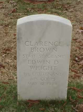 BROWN (VETERAN WWII), CLARENCE - Pulaski County, Arkansas | CLARENCE BROWN (VETERAN WWII) - Arkansas Gravestone Photos