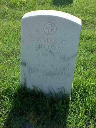 BROWN (VETERAN WWII), JAMES C - Pulaski County, Arkansas   JAMES C BROWN (VETERAN WWII) - Arkansas Gravestone Photos