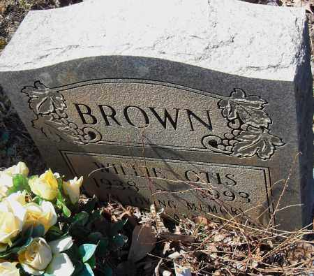 BROWN, WILLIE OTIS - Pulaski County, Arkansas   WILLIE OTIS BROWN - Arkansas Gravestone Photos
