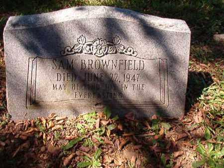 BROWNFIELD, SAM - Pulaski County, Arkansas | SAM BROWNFIELD - Arkansas Gravestone Photos