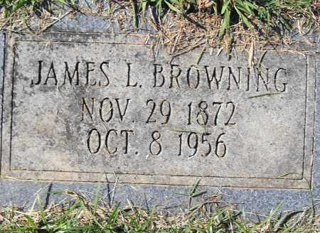BROWNING, JAMES L - Pulaski County, Arkansas | JAMES L BROWNING - Arkansas Gravestone Photos