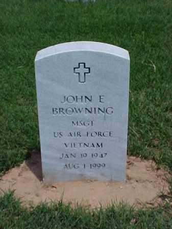 BROWNING (VETERAN VIET), JOHN E - Pulaski County, Arkansas | JOHN E BROWNING (VETERAN VIET) - Arkansas Gravestone Photos