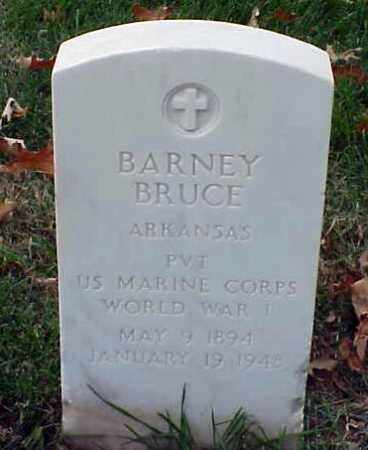BRUCE (VETERAN WWI), BARNEY - Pulaski County, Arkansas | BARNEY BRUCE (VETERAN WWI) - Arkansas Gravestone Photos