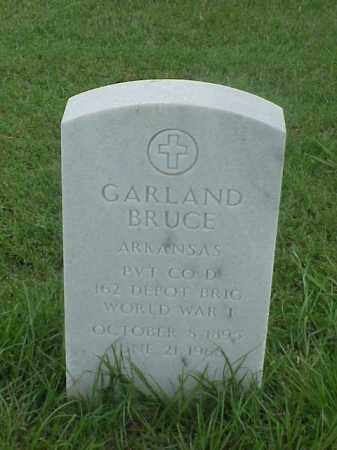 BRUCE (VETERAN WWI), GARLAND - Pulaski County, Arkansas | GARLAND BRUCE (VETERAN WWI) - Arkansas Gravestone Photos