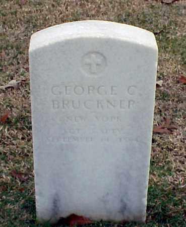 BRUCKNER (VETERAN UNION), GEORGE C - Pulaski County, Arkansas   GEORGE C BRUCKNER (VETERAN UNION) - Arkansas Gravestone Photos