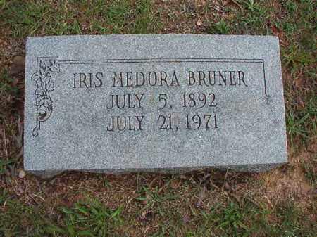 BRUNER, IRIS MEDORA - Pulaski County, Arkansas   IRIS MEDORA BRUNER - Arkansas Gravestone Photos