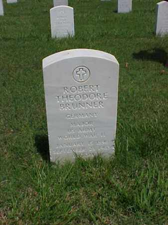 BRUNNER (VETERAN WWII), ROBERT THEODORE - Pulaski County, Arkansas   ROBERT THEODORE BRUNNER (VETERAN WWII) - Arkansas Gravestone Photos