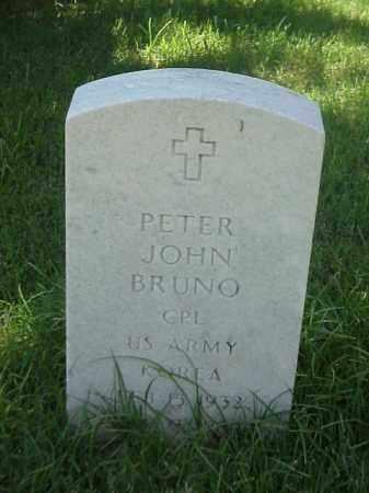 BRUNO (VETERAN KOR), PETER JOHN - Pulaski County, Arkansas   PETER JOHN BRUNO (VETERAN KOR) - Arkansas Gravestone Photos
