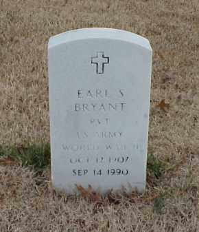 BRYANT  (VETERAN WWII), EARL S - Pulaski County, Arkansas | EARL S BRYANT  (VETERAN WWII) - Arkansas Gravestone Photos