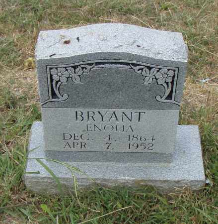 BRYANT, ENOLIA - Pulaski County, Arkansas | ENOLIA BRYANT - Arkansas Gravestone Photos