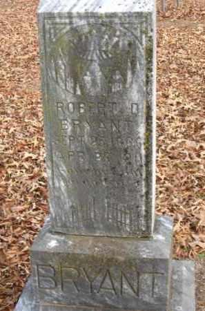 BRYANT, ROBERT D - Pulaski County, Arkansas   ROBERT D BRYANT - Arkansas Gravestone Photos