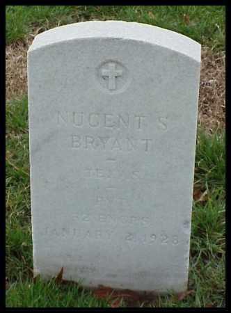 BRYANT (VETERAN WWI), NUGENT S - Pulaski County, Arkansas | NUGENT S BRYANT (VETERAN WWI) - Arkansas Gravestone Photos