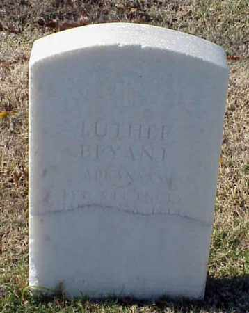 BRYANT (VETERAN WWI), LUTHER - Pulaski County, Arkansas | LUTHER BRYANT (VETERAN WWI) - Arkansas Gravestone Photos