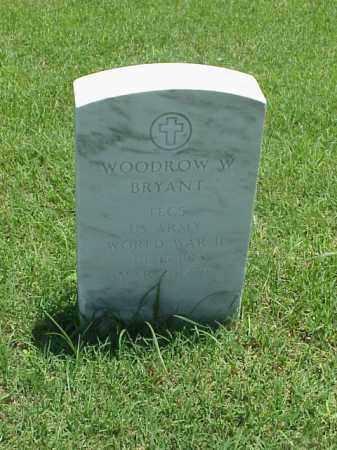 BRYANT (VETERAN WWII), WOODROW W - Pulaski County, Arkansas | WOODROW W BRYANT (VETERAN WWII) - Arkansas Gravestone Photos