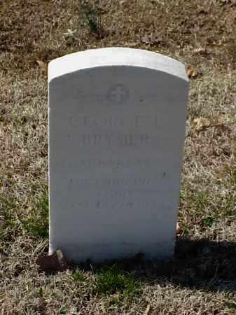 BRYMER (VETERAN), GEORGE L - Pulaski County, Arkansas | GEORGE L BRYMER (VETERAN) - Arkansas Gravestone Photos
