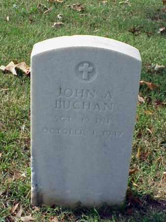 BUCHAN (VETERAN SAW), JOHN A - Pulaski County, Arkansas | JOHN A BUCHAN (VETERAN SAW) - Arkansas Gravestone Photos