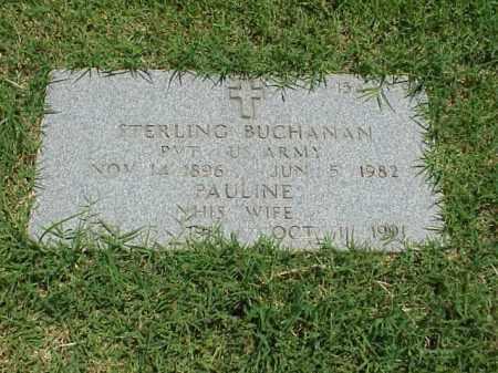 BUCHANAN, PAULINE - Pulaski County, Arkansas | PAULINE BUCHANAN - Arkansas Gravestone Photos