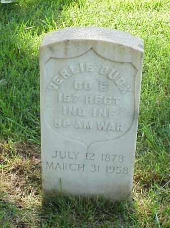 BUCK (VETERAN SAW), VERLIE - Pulaski County, Arkansas | VERLIE BUCK (VETERAN SAW) - Arkansas Gravestone Photos