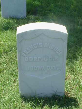 BUCK (VETERAN UNION), FRANCIS M - Pulaski County, Arkansas | FRANCIS M BUCK (VETERAN UNION) - Arkansas Gravestone Photos