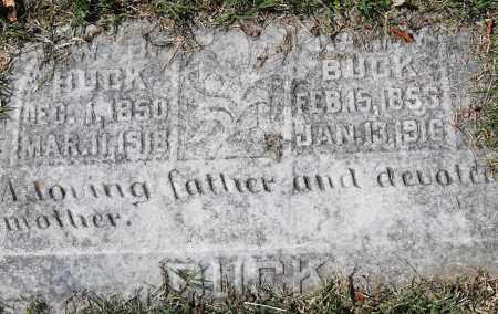 BUCK, NANCY - Pulaski County, Arkansas   NANCY BUCK - Arkansas Gravestone Photos