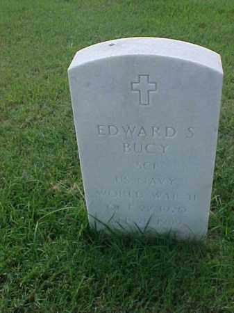 BUCY (VETERAN WWII), EDWARD S - Pulaski County, Arkansas   EDWARD S BUCY (VETERAN WWII) - Arkansas Gravestone Photos