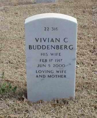 BUDDENBERG, VIVIAN C - Pulaski County, Arkansas   VIVIAN C BUDDENBERG - Arkansas Gravestone Photos