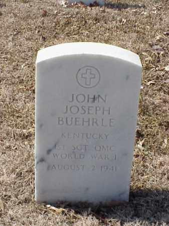 BUEHRLE (VETERAN WWI), JOHN JOSEPH - Pulaski County, Arkansas | JOHN JOSEPH BUEHRLE (VETERAN WWI) - Arkansas Gravestone Photos