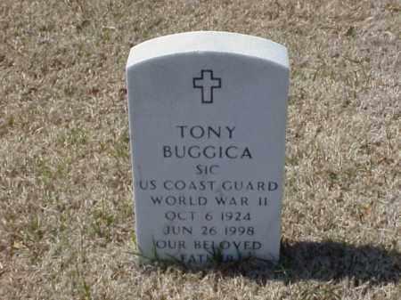 BUGGICA (VETERAN WWII), TONY - Pulaski County, Arkansas   TONY BUGGICA (VETERAN WWII) - Arkansas Gravestone Photos