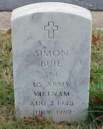 BUIE (VETERAN VIET), SIMON - Pulaski County, Arkansas | SIMON BUIE (VETERAN VIET) - Arkansas Gravestone Photos