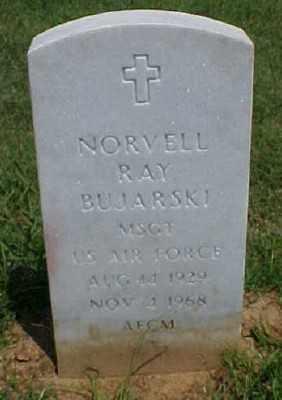 BUJARSKI (VETERAN), NORVELL RAY - Pulaski County, Arkansas | NORVELL RAY BUJARSKI (VETERAN) - Arkansas Gravestone Photos