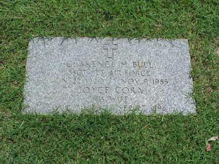 BULL (VETERAN WWII), CLARENCE H - Pulaski County, Arkansas | CLARENCE H BULL (VETERAN WWII) - Arkansas Gravestone Photos