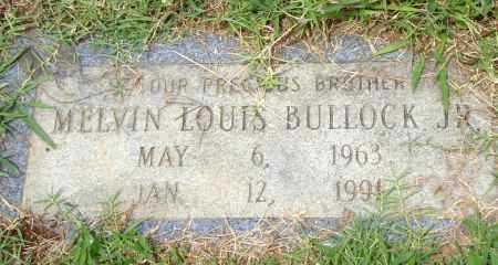 BULLOCK,  JR., MELVIN LOUIS - Pulaski County, Arkansas | MELVIN LOUIS BULLOCK,  JR. - Arkansas Gravestone Photos
